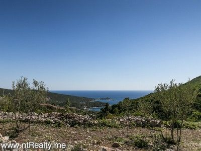 lustica tici plot (1) lustica bay - tici, plot with views over fort arza and adriatic sea for sale €85,000