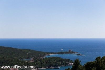 lustica tici plot (3) lustica bay - tici, plot with views over fort arza and adriatic sea for sale €85,000