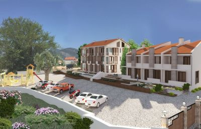 kiparis 1 s and townhouses in residential complex, tivat, € 154,000