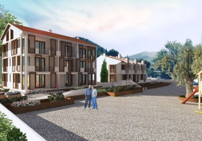 kiparis 2 s and townhouses in residential complex, tivat, € 154,000