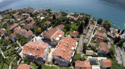 2dj excellent one bedroom  in complex with swimming pool, djenovici, herceg novi, €88,000
