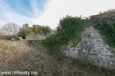 gosici stone ruin with 492m2 plot  (5) tivat bay - gosici, stone ruin with 492m2 plot for sale €48,000