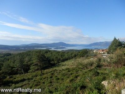 pb280481 tivat - kavac, stone ruin and land for sale €127,000