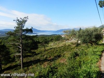 pb280484 tivat - kavac, stone ruin and land for sale €127,000