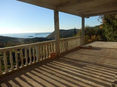 pc120611 lustica - eraci, villa with stunning views of the bay for sale €159,000, Tivat