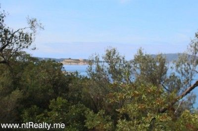 lustica mirista, land plots for sale 176 (52) lustica - mirista, front line plot with planning permissions in process for sale €165,000, Tivat