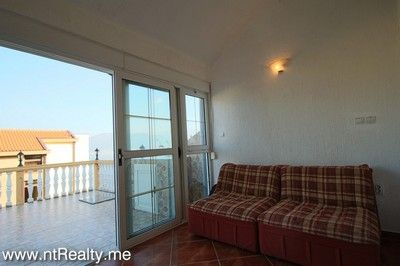 krasici, apartment with terrace 190(22) lustica - krasici,  with large terrace and sea views for sale €60,000, Tivat