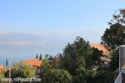 krasici, apartment with terrace 190(29) lustica - krasici,  with large terrace and sea views for sale €60,000, Tivat