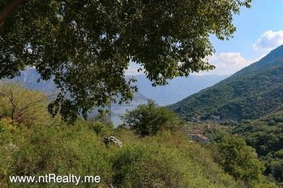 morinj_house (1) kotor bay - morinj, semi-detached house with view over perast for sale €85,000