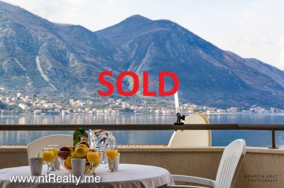 sold sold kotor - st stasije, 2 bedrooms  with sea view €138,000 sold