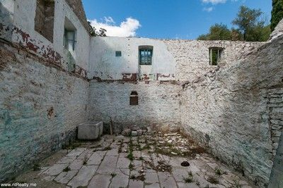 gornja_lastva_ruin (17) tivat - gornja lastva, ruin with stunning view on tivat bay, porto montenegro and open sea for sale