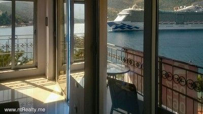 lepetane (1) tivat bay - opatovo, 2 bedroom  with panoramic view over the tivat bay and verige strait fo