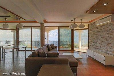 prcanj (2) kotor bay - prcanj, 3 bedroom  with amazing sea view for sale €175,000