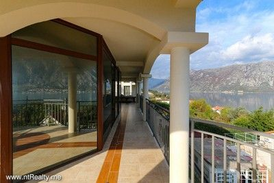 prcanj (6) kotor bay - prcanj, 3 bedroom  with amazing sea view for sale €175,000