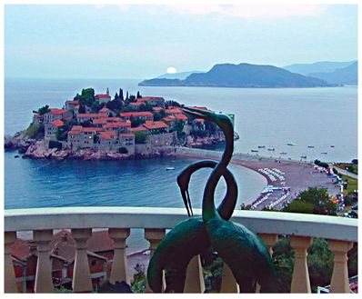noname4 la med accommodation, Sveti Stefan