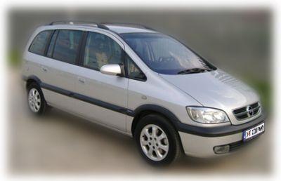 opel zafira 2 d&t company-rent a car, Herceg Novi