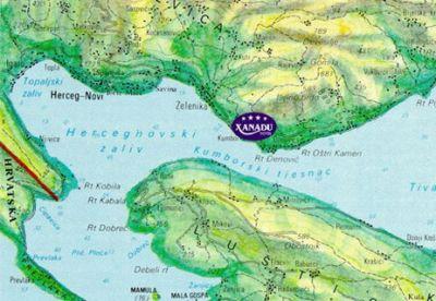 mapa boka