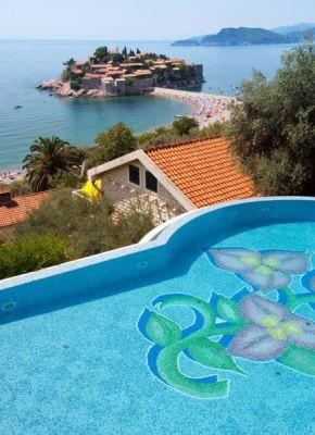 vila1 residence villa montenegro, Sveti Stefan