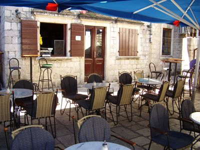 p7080003 caffe bar scorpio, Kotor