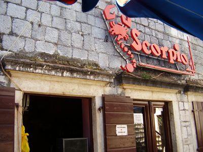 p7080004 caffe bar scorpio, Kotor